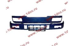 Бампер C синий верхний+нижний (в сборе) фото Рыбинск