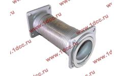 Гофра-труба выхлопная с квадратными фланцами FN для самосвалов фото Рыбинск